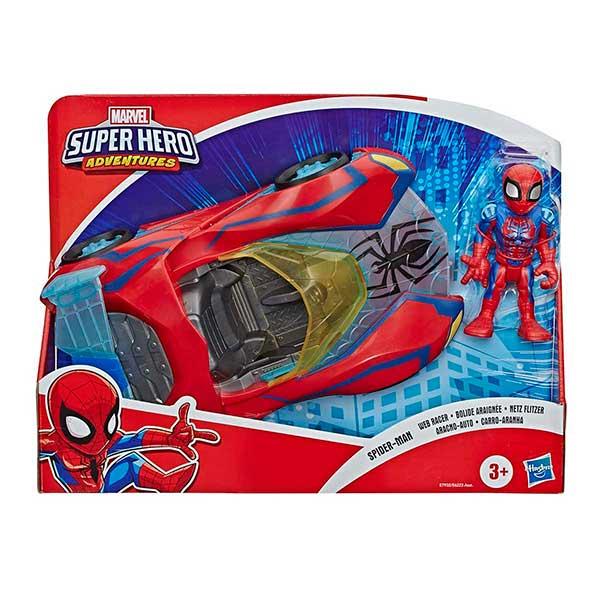 Marvel Figura Spiderman con Coche - Imagen 1