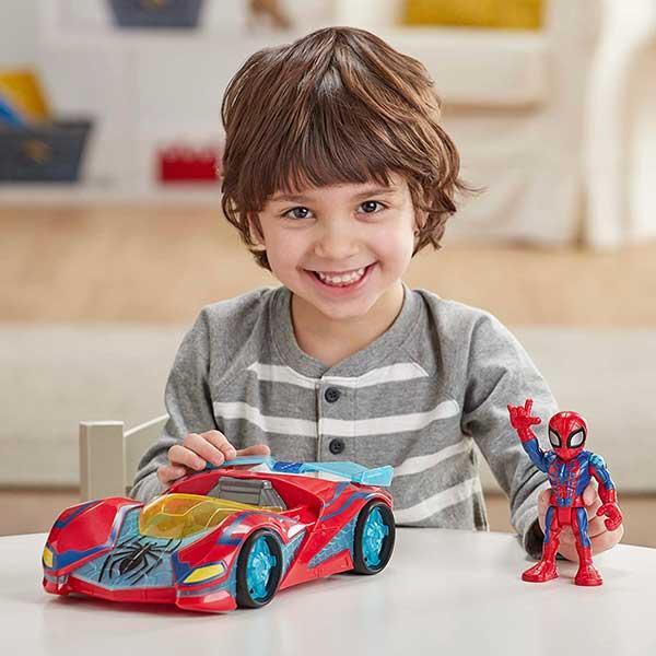 Marvel Figura Spiderman con Coche - Imagen 2