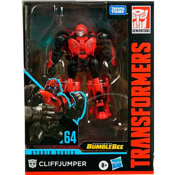 Transformers Figura Cliffjumper Studio Series #64 - Imagen 2