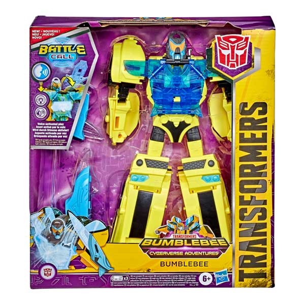 Transformers Figura Bumblebee Battle Call 25cm - Imagen 1