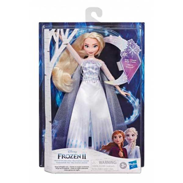 Frozen 2 Muñeca Elsa Cantarina - Imagen 1