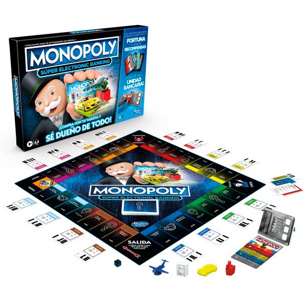 Juego Monopoly Super Electronic Banking - Imagen 1