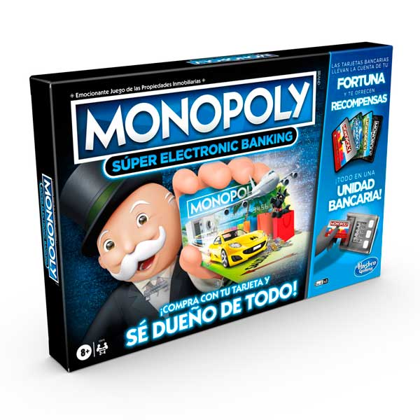 Juego Monopoly Super Electronic Banking - Imagen 2