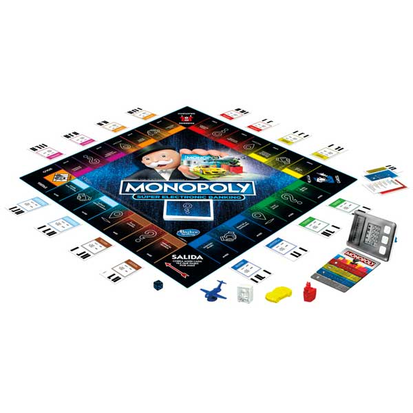 Juego Monopoly Super Electronic Banking - Imagen 3