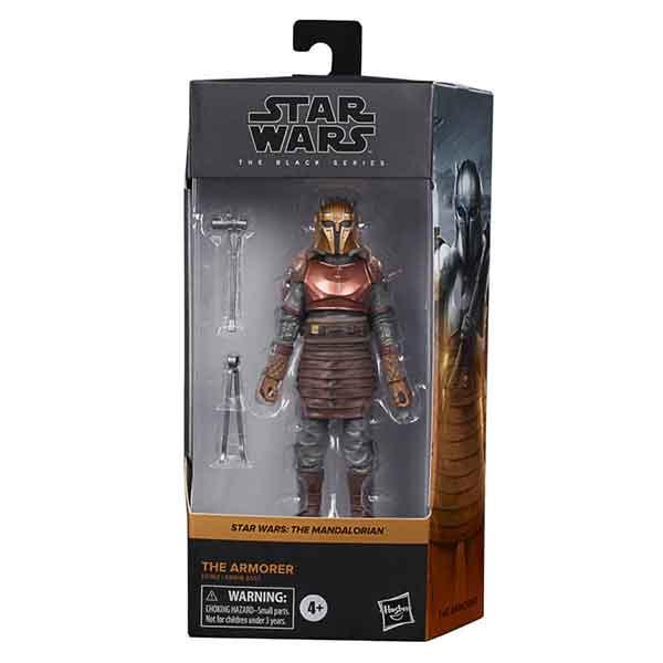 Star Wars Figura The Armorer Black Series 15cm