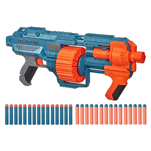 Nerf Elite Shockwave RD-15 Lanzadardos