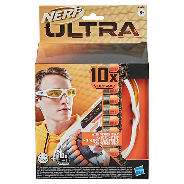 Nerf Ultra Pack Dards i Ulleres Vision Gears