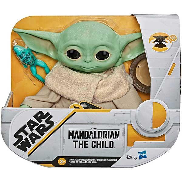 Star Wars Mandalorian Peluche The Child con Voz 19cm