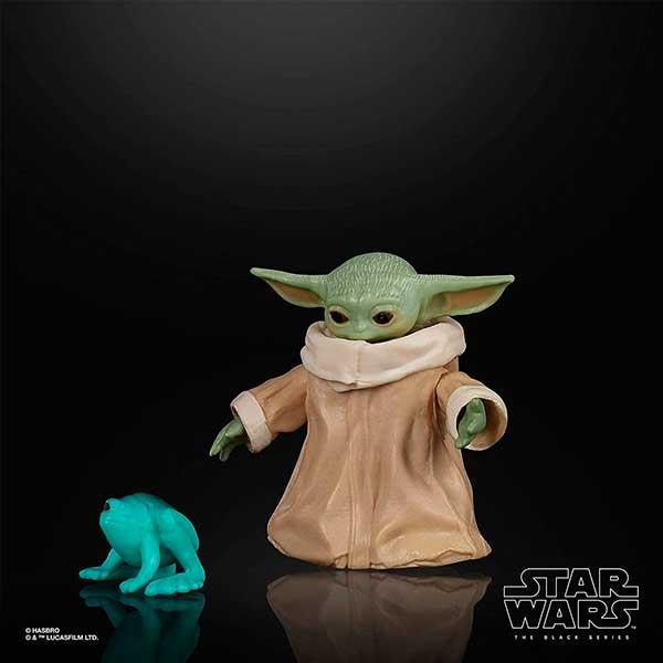 Star Wars The Mandalorian Mini Figura The Child Black Series - Imagen 2