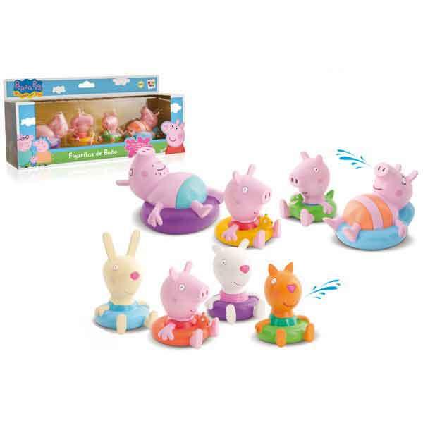 Figuras de Baño Peppa Pig