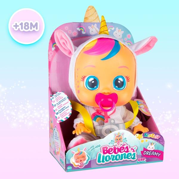 Bebé Dreamy Unicornio Bebés Llorones - Imagen 1