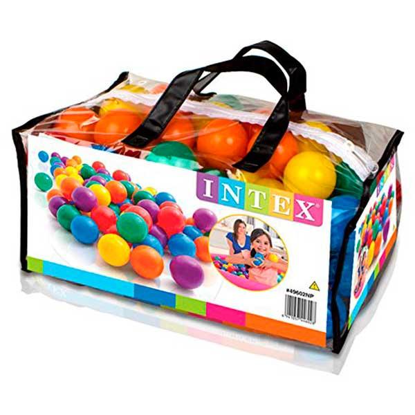 Bolsa 100 Pelotas Colores Intex