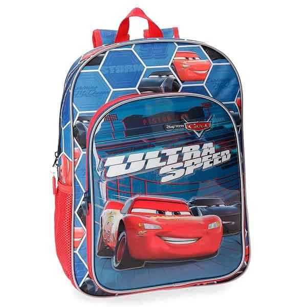 Mochila Escolar Cars Ultra Speed 38cm