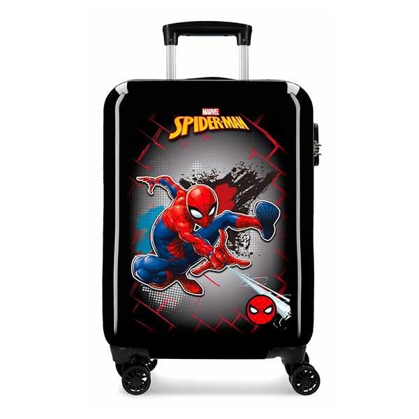 Maleta de Cabina Rígida Spiderman Red 55cm