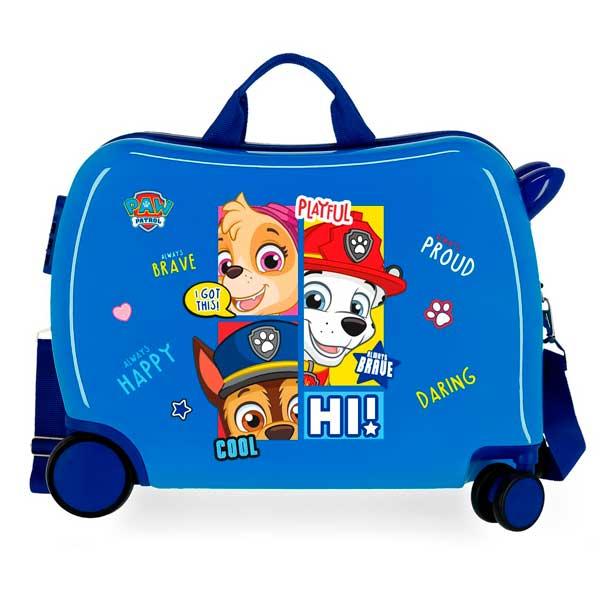 Patrulla Canina Maleta Infantil de Viaje Be Happy Azul