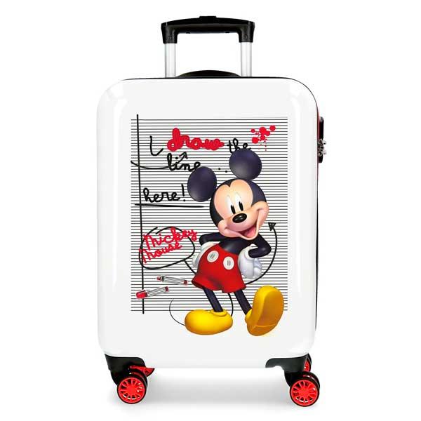 Mickey Mouse Maleta Trolley 4r 55 cm