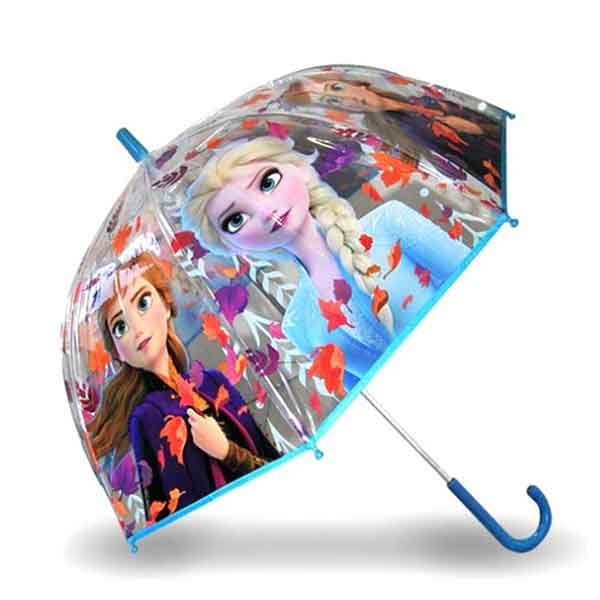 Frozen 2 Paraguas Infantil Transparente