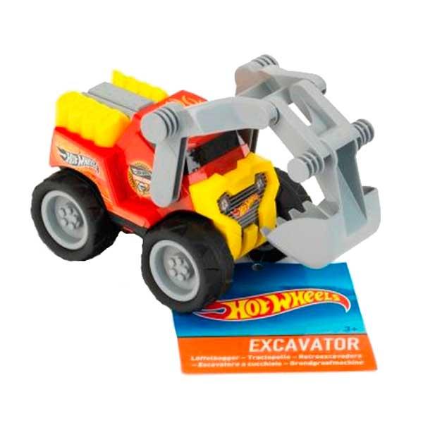 Excavadora Hot Wheels 1:24