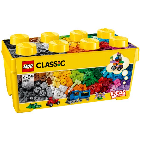 Lego Classic 10696 Caja de Ladrillos Creativos Mediana - Imagen 1
