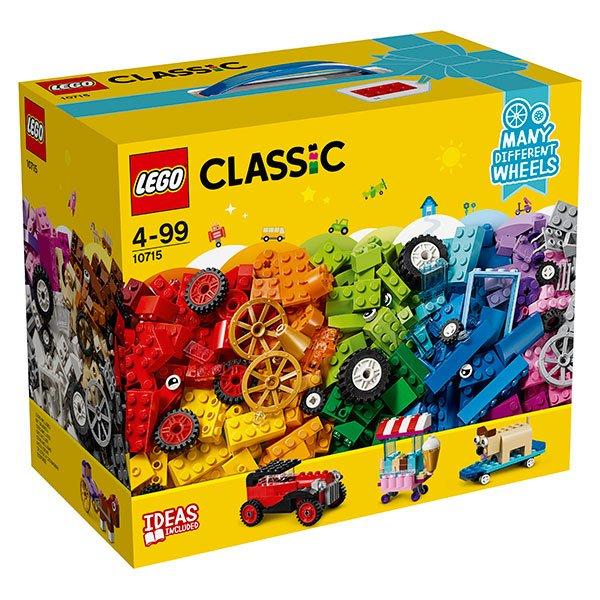 Lego Classic 10715 Ladrillos sobre Ruedas - Imagen 1