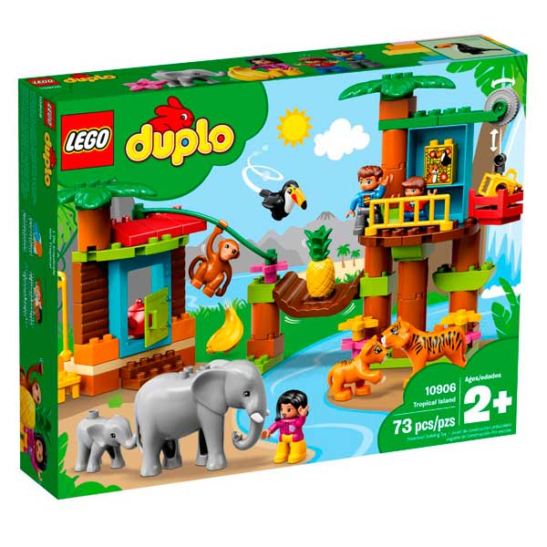 Lego Duplo 10906 Isla Tropical - Imagen 1