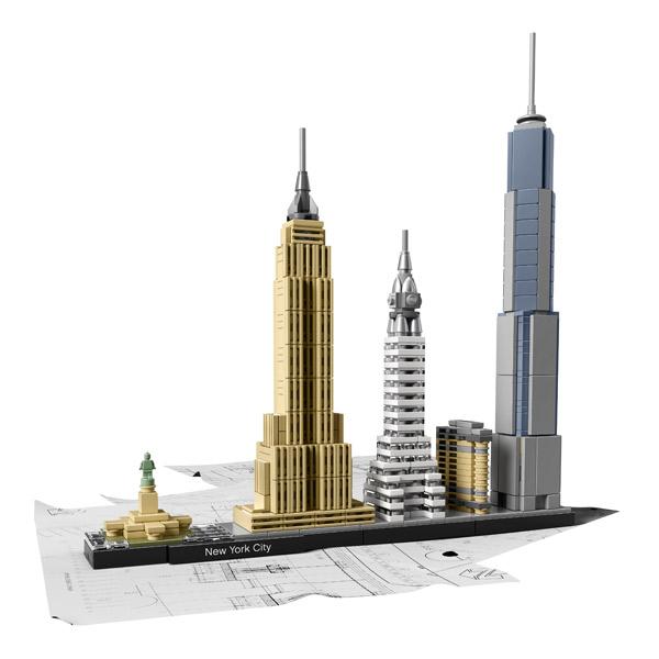 Lego Architecture 21028 Ciudad de Nueva York Arquitecture - Imatge 1