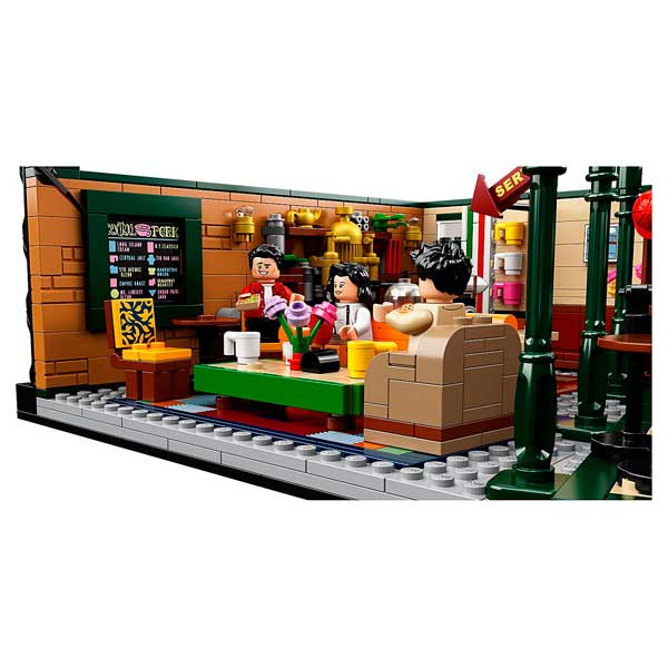 Lego Ideas 21319 Central Perk Friends - Imagen 4