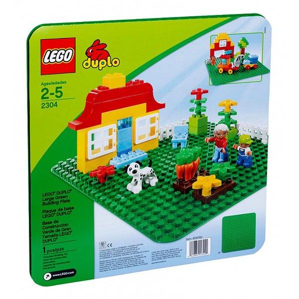 Gran Planxa Verda de Construccio Lego Duplo - Imatge 1