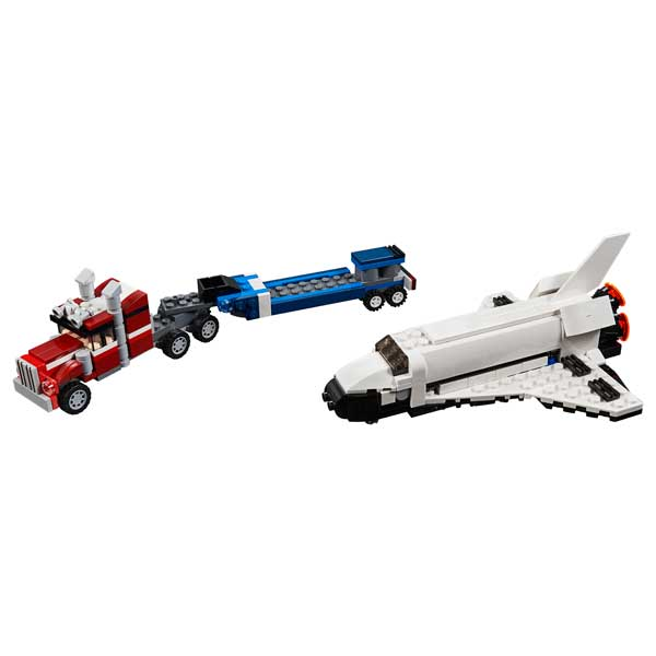 Lego Creator 31091 Transporte de la Lanzadera 3en1 - Imagen 1
