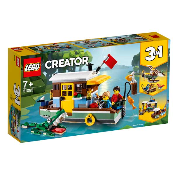 Casa Flotant del Riu Lego Creator 3en1 - Imatge 1