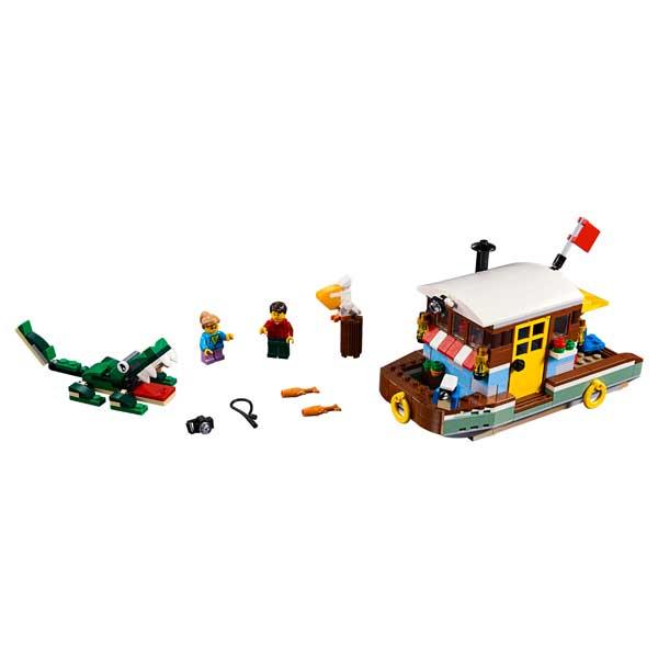 Lego Creator 31093 Casa Flotante del Río 3en1 - Imatge 1
