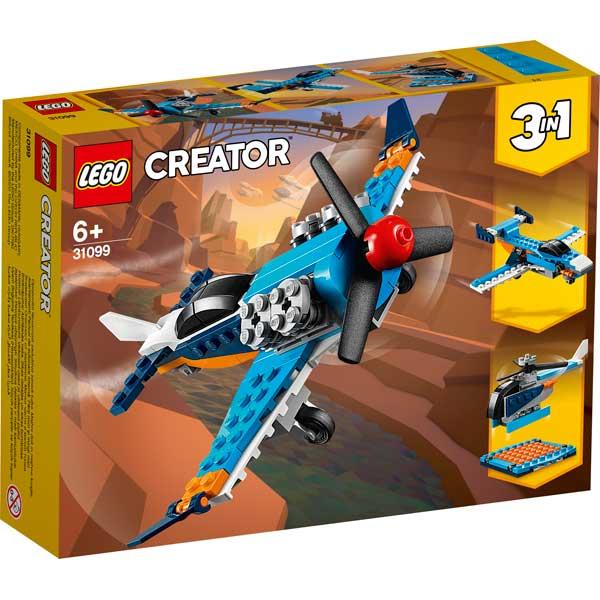 Lego Creator 31099 3en1 Avión de Hélice - Imagen 1