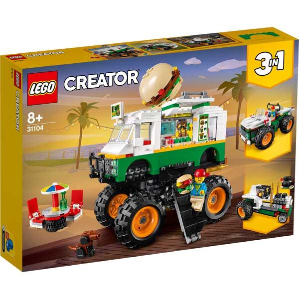 Lego Creator 31104 3en1 Monster Truck Hamburguesería