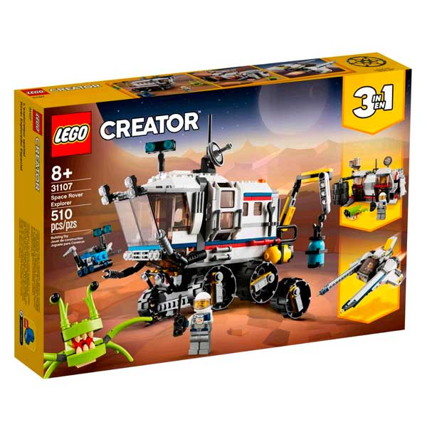 Lego Creator 3en1 31107 Róver Explorador Espacial
