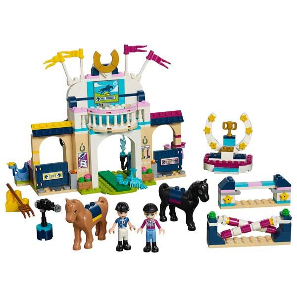 Lego Friends 41367 Concurso de Saltos de Stephanie - Imatge 1