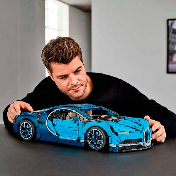 Lego Technic 42083 Bugatti Chiron - Imatge 6