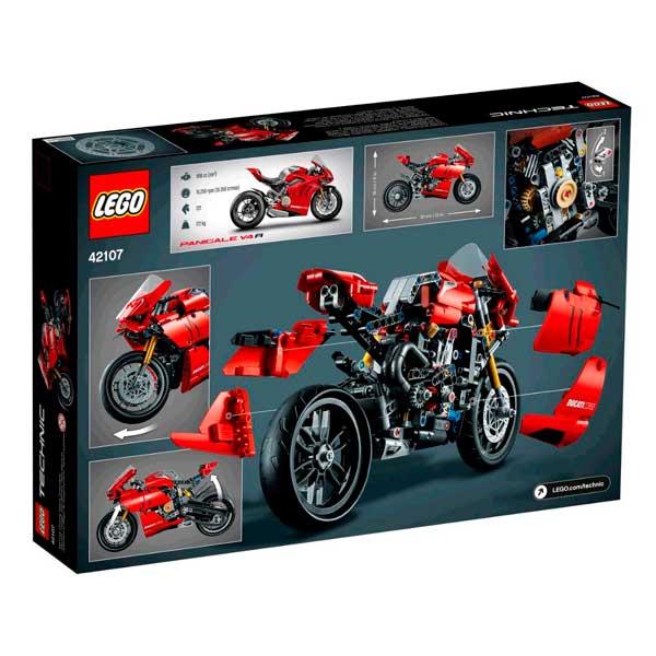 Lego Technic 42107 Ducati Panigale V4 R - Imagen 2