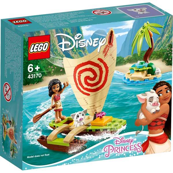 Lego Disney 43170 A Aventura Oceânica de Vaiana