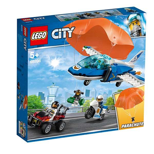 Lego City 60208 Policía Aérea: Arresto del Ladrón Paracaidista