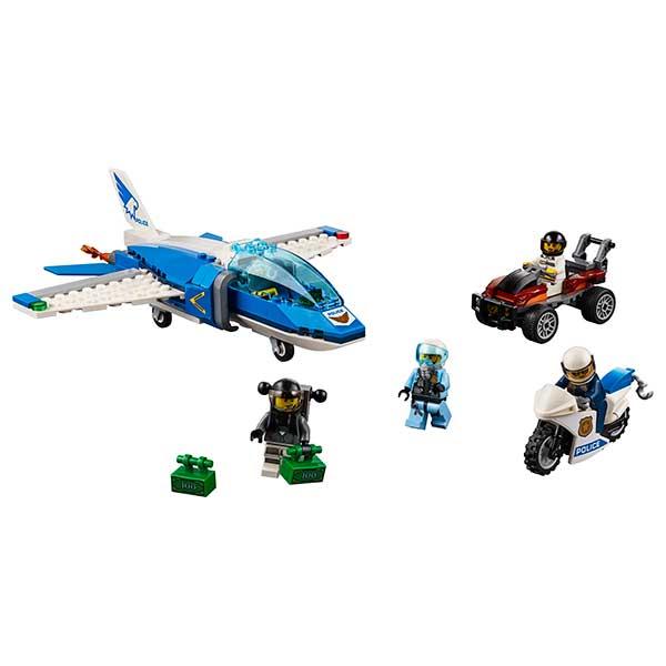 Lego City 60208 Policía Aérea: Arresto del Ladrón Paracaidista - Imatge 1