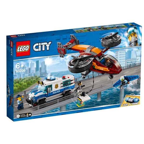 Policia Aèria Robatori del Diamant Lego City - Imatge 1