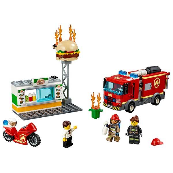 Lego City 60214 Rescate del Incendio en la Hamburguesería - Imagen 1