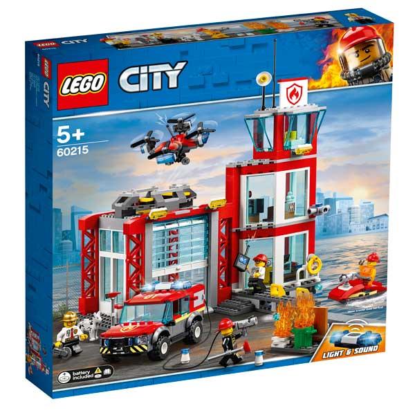 Parc de Bombers Lego City - Imatge 1