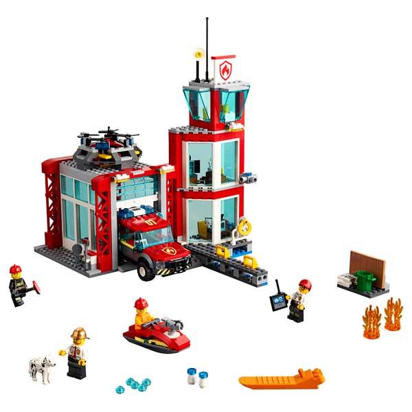 Lego City 60215 Parque de Bomberos - Imatge 1