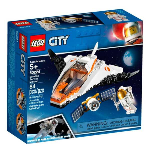 Lego City 60224 Misión Reparar el Satélite