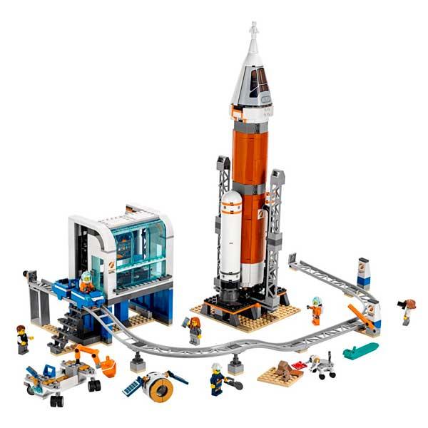 Lego City 60228 Cohete Espacial y Centro de Control - Imagen 1