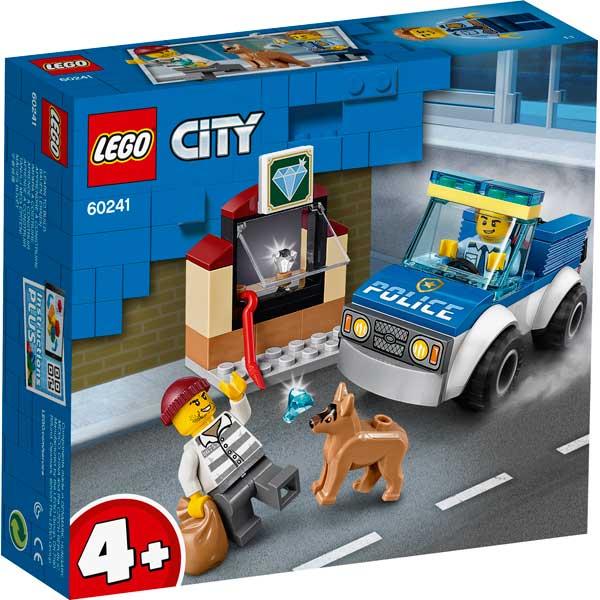 Lego City 60241 Policía: Unidad Canina - Imagen 1