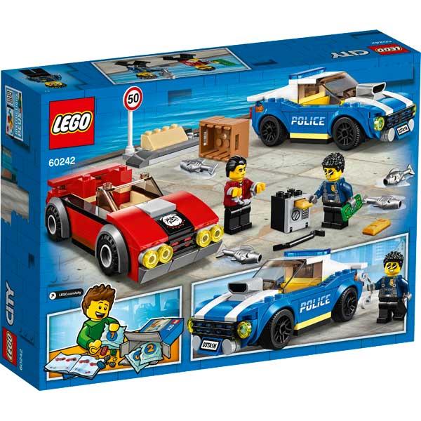 Lego City 60242 Policía: Arresto en la Autopista - Imagen 1