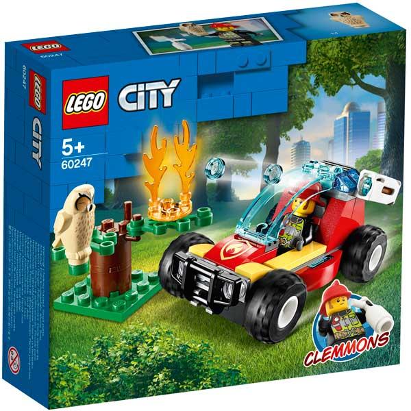 Lego City 60247 Incendio en el Bosque - Imagen 1