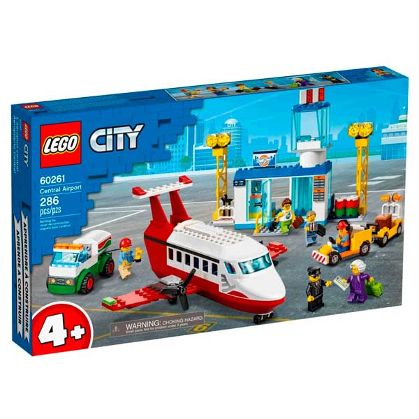 Lego City 60261 Aeropuerto Central